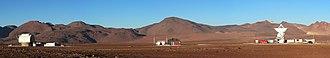 Atacama Submillimeter Telescope Experiment - Image: Atacama Submillimeter Telescope Experiment complex, Chile
