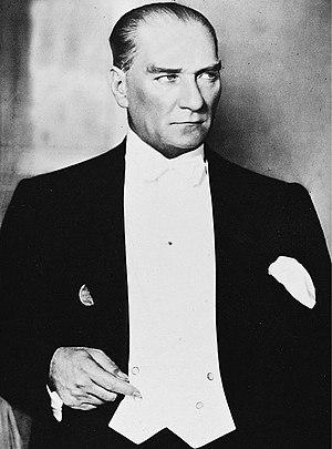 Mustafa Kemal Atatürk - A portrait of Atatürk