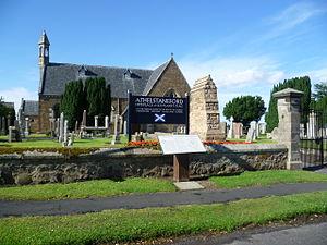 Athelstaneford - Image: Athelstaneford Kirk, East Lothian