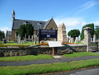 Athelstaneford - Image: Athelstaneford Kirk, East Lothian