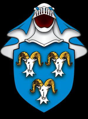 Jack Aubrey - Arms of the Aubrey Family described in Desolation Island