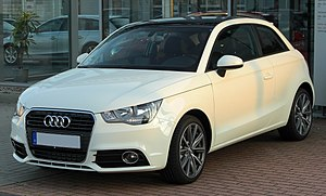 Audi A1 1.6 TDI Ambition front 20100901.jpg
