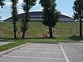 Audi Aréna, 1-es út és parkoló, 2018 Győr.jpg