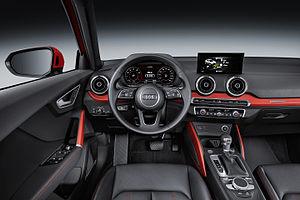 Audi Q2 - Image: Audi Q2 Interieur