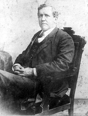 Augustus Hill Garland - Augustus H. Garland (c. 1870).