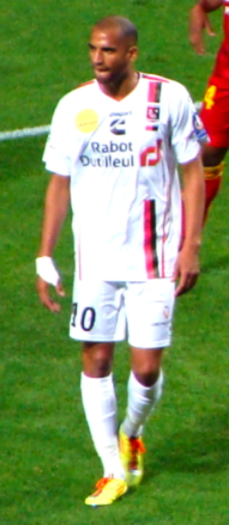 Aurélien Capoue - Capoue playing for Boulogne in 2011