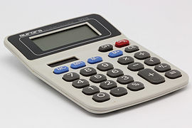 Aurora electronic calculator DT210 02.jpg