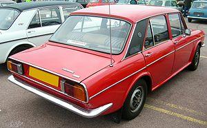 Authi - 1973 Austin Victoria MKII De Luxe rear view