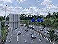 Autoroute A4 vue depuis Pont Avenue Tremblay Paris 4.jpg