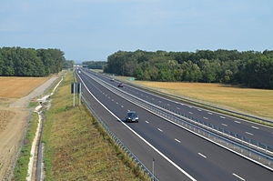 Autostrada București-Ploiești (km 49)