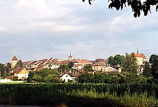 Avenches Place in Vaud, Switzerland