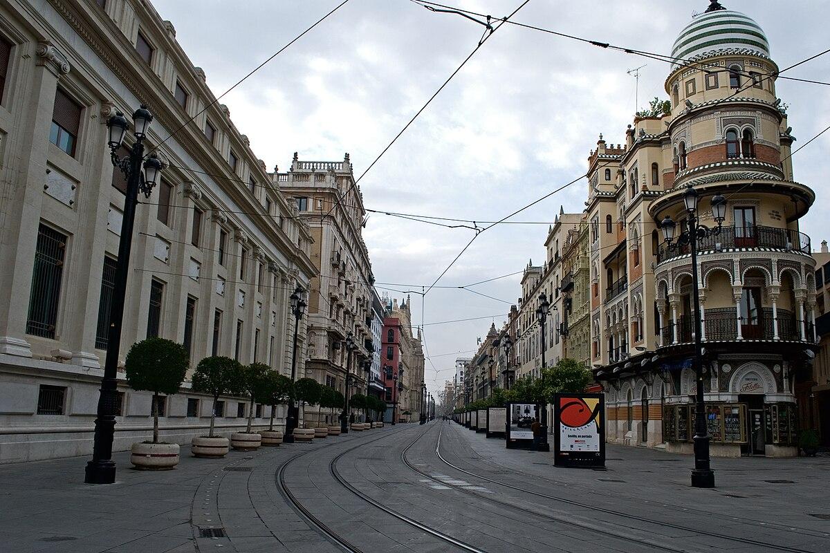 Avenida de la Constitución (Sevilla) - Wikipedia, la enciclopedia libre