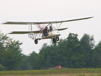 Mignet Pou-du-Ciel - HM.1000 Balerit in flight