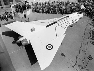Fly-by-wire - Avro Canada CF-105 Arrow, first non-experimental aircraft flown with a fly-by-wire control system