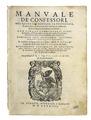 Azpilcueta - Manuale de' confessori, 1584 - 019.tif