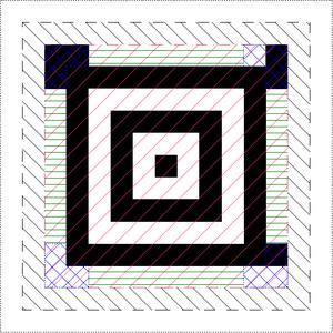 Aztec Code - Image: Aztec Code with desc