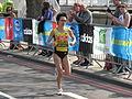 Azusa Nojiri, London Marathon 2011.jpg