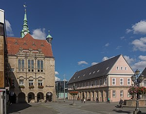 Bückeburg - Image: Bückeburg, stadhuis foto 4 2015 09 09 14.42