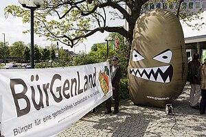 Amflora - Protests against the Amflora potato