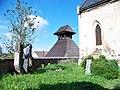 Běleč (KL), hřbitov a zvonice.jpg