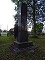 Březina (MB), pomník u železniční zastávky, zezadu.jpg