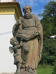 Socha svatého Matouše