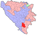 BH municipality location Nevesinje.png