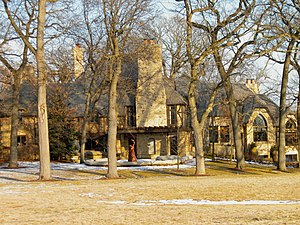 Barrington Hills, Illinois - The Grigsby Estate is on the National Register of Historic Places in Lake County.