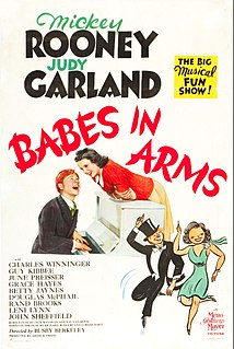 <i>Babes in Arms</i> (film) 1939 film by Busby Berkeley