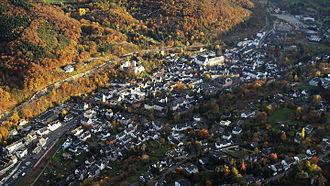 Bad Münstereifel - Aerial view (2015)