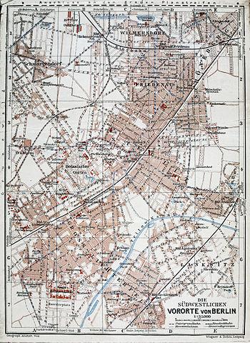 FileBaedeker Plan Der Südwestlichen Vororte Von Berlin Jpg - Berlin map 1914