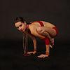 100px Bakasana Yoga Asana Nina Mel yoga asanas Liste des exercices et position à pratiquer