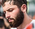 Baker Mayfield training camp 2018 (cropped).jpg