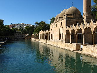 Atargatis - The fishpond of fish sacred to Atargatis survives at Şanlıurfa, the ancient Edessa, its mythology transferred to Ibrahim.