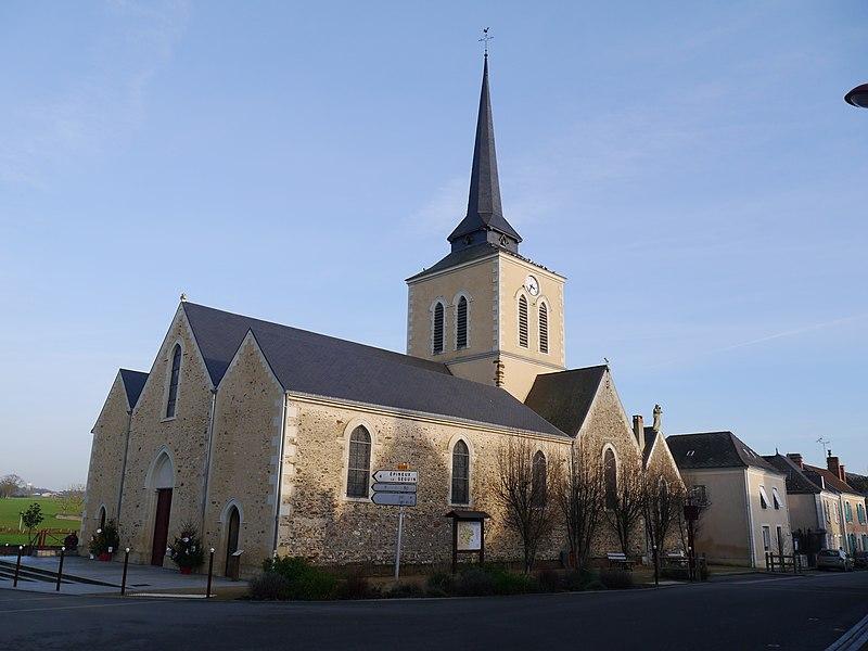 L'église Saint-Sulpice.