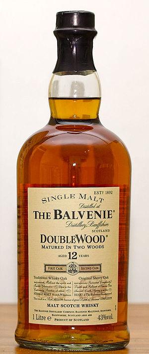 Balvenie DoubleWood, 12 years old Scottish Sin...