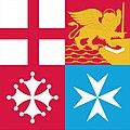 Bandiera di Bompresso della Marina Militare Italiana.jpg