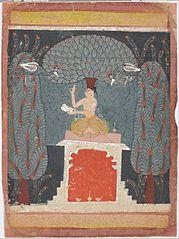 Bangal ragini from a Ragamala series