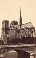 Baptiste Guerard, Views of Paris and Venice - Cathédrale Notre-Dame, ca. 1860–69.jpg