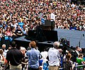 Barack Obama campaign rally in Urbandale, Iowa (cropped1).jpg