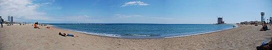 Barcelona Beach Panorama.jpg