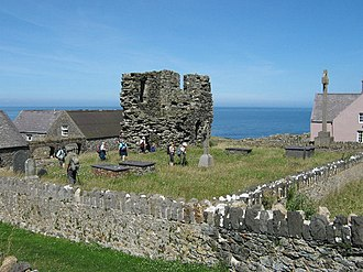Bardsey Island - Ruins of St Mary's Abbey