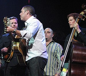 Barenaked Ladies (l-r) Kevin Hearn, Ed Roberts...