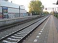 Barneveld Centrum spoorzijde ri Lunteren valleilijn.jpg