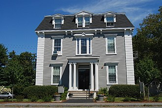 National Register of Historic Places listings in Taunton, Massachusetts - Image: Bartlett Hse Taunton