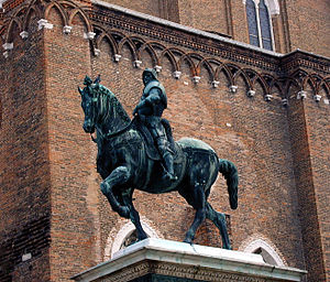Bartolomeo Colleoni - The equestrian statue of Bartolomeo Colleoni by Verrocchio in Venice.