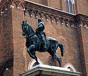 bartolomeo colleoni statua equestre del verrocchio venezia campo di san zanipolo
