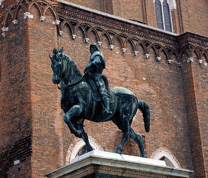 Jeste li znali ? - Page 2 702px-Bartolomeo_Colleoni,_statua_equestre_del_Verrocchio,_Venezia,_campo_di_san_Zanipolo