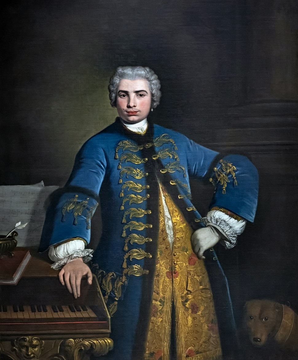 Bartolomeo Nazari - Portrait of Farinelli 1734 - Royal College of Music London