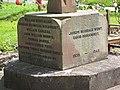 Base of the war memorial - geograph.org.uk - 876910.jpg